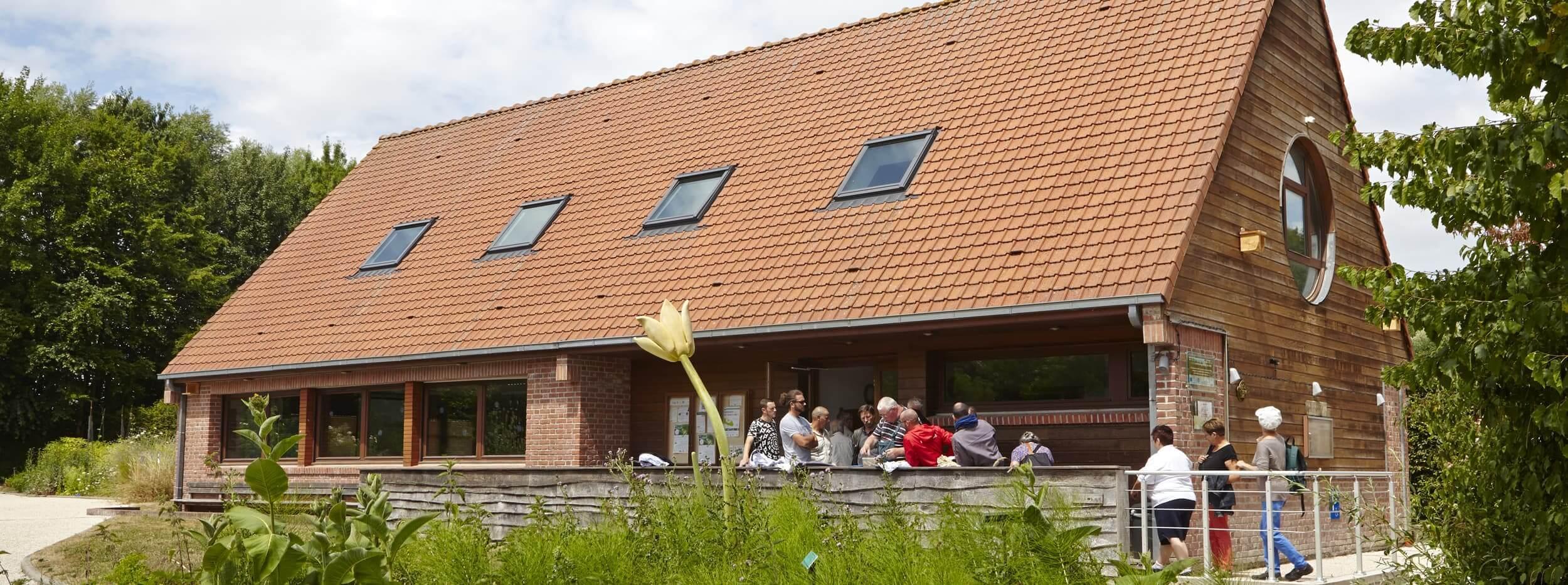 Atelier de botanique du CBNBL, vue extérieure